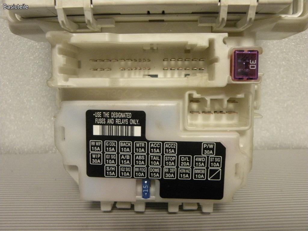 Suzuki Sx4 2011 Sicherungskasten Relais Modul 36770