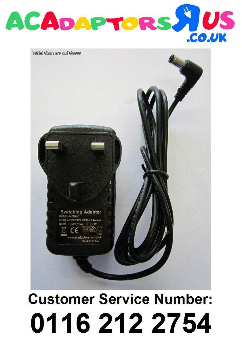 Replacement 6V 1000mA AC/DC ADAPTOR POWER SUPPLY for MODEL LK ...