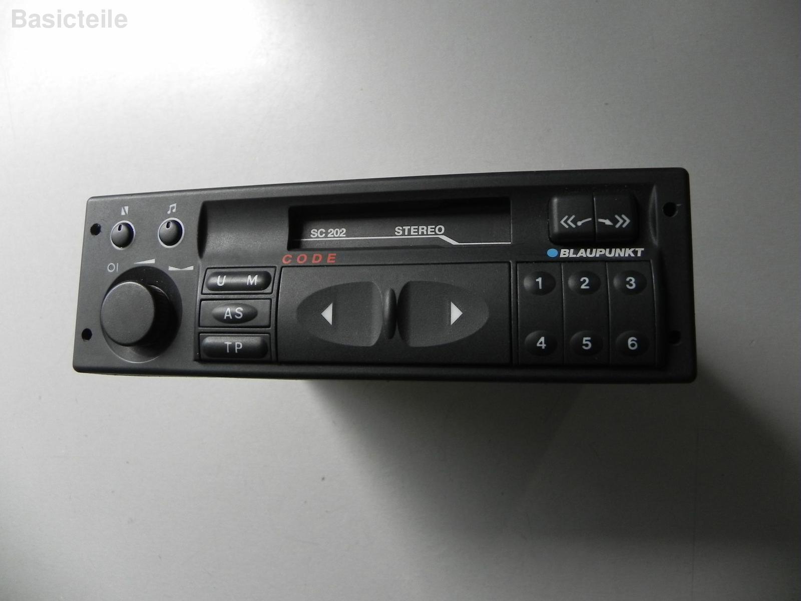 Opel Astra F Orginal Radio Kassette Blaupunkt 90381123