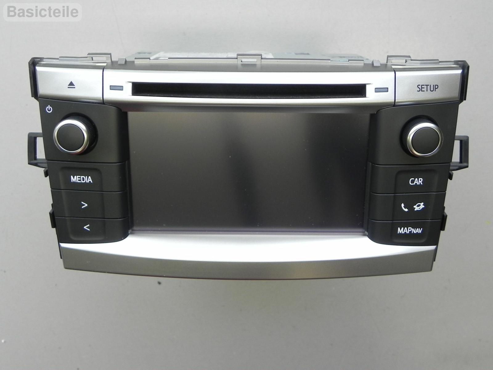 toyota corolla verso radio navi cd multi system navigation. Black Bedroom Furniture Sets. Home Design Ideas
