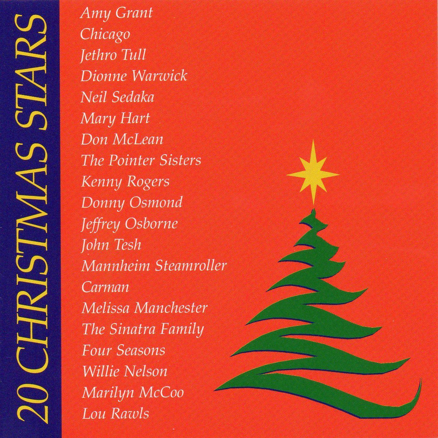 20 CHRISTMAS STARS -Songs by Chicago,Kenny Rogers, Lou Rawls,Jethro ...