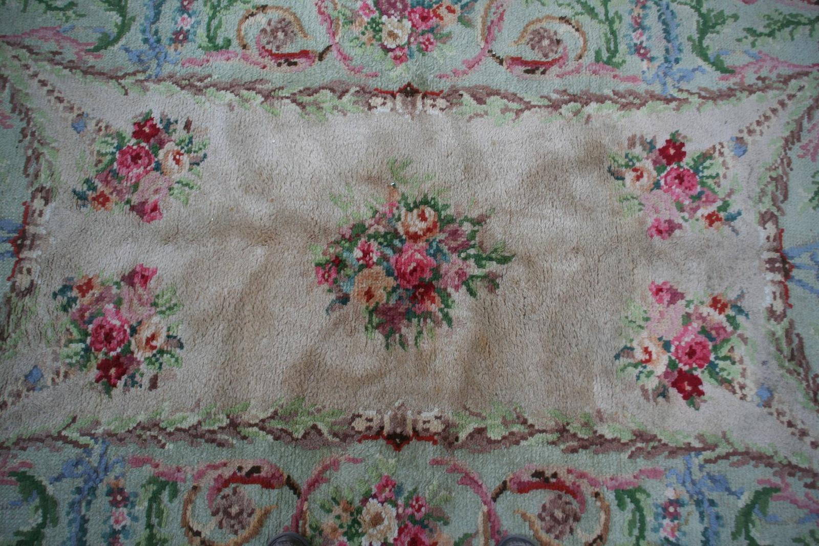 Alfombra antigua francesa savonnerie alfombras antiguas for Alfombras orientales antiguas
