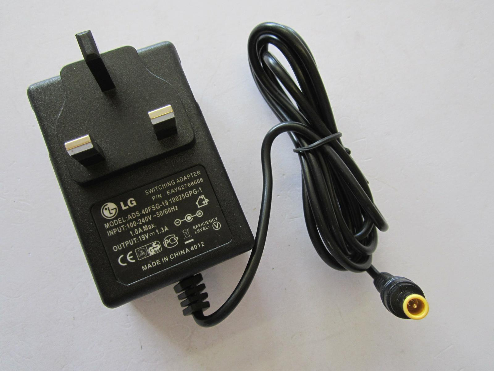 UK 19V 13A Replacement AC Adaptor Power Supply For LG