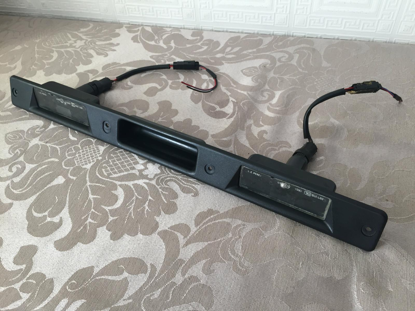 Range Rover P38 Lamp Rear Licence Plate Number Lights