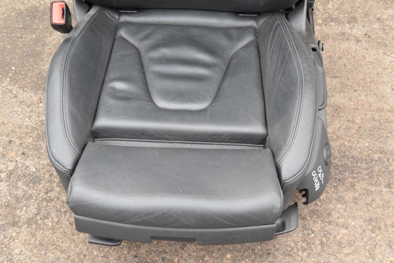 Audi A4 B8 8k S Line Black Leather Complete Interior Set Door Cards Seats Back Ebay