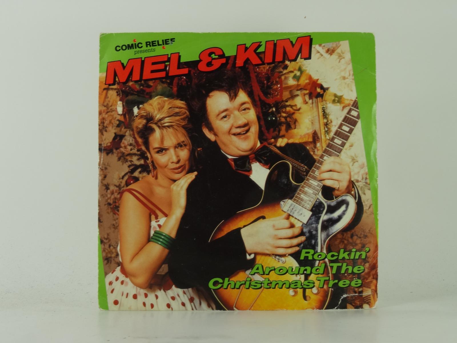 MEL & KIM,ROCKIN\' AROUND THE CHRISTMAS TREE (3),VG/EX,2 Track, 7 ...