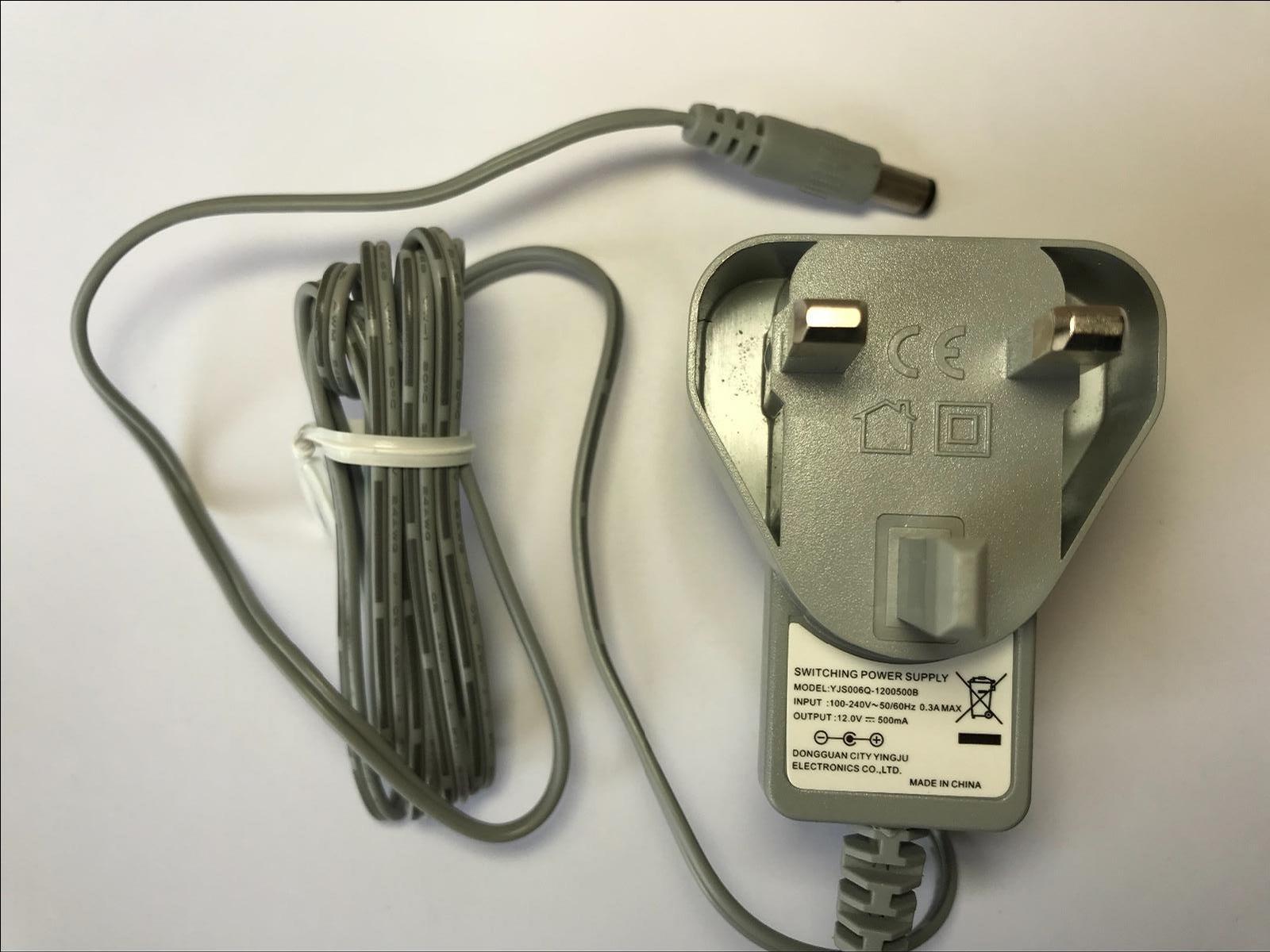 Power Supply for 12V 500mA AC Model R