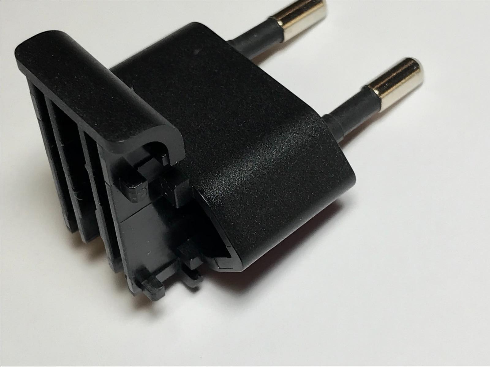 EU Slide Attachment Plug for APD Asian Power Devices 5V 3A WA-15I05R