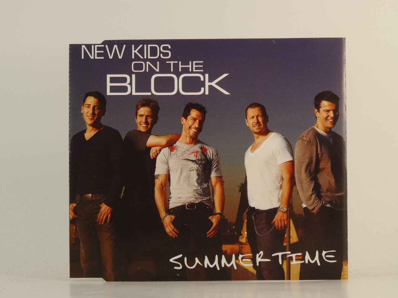 NEW-KIDS-ON-THE-BLOCK-SUMMER-TIME-EX-EX-1-Track-Promo-CD-Single-Picture-Sle