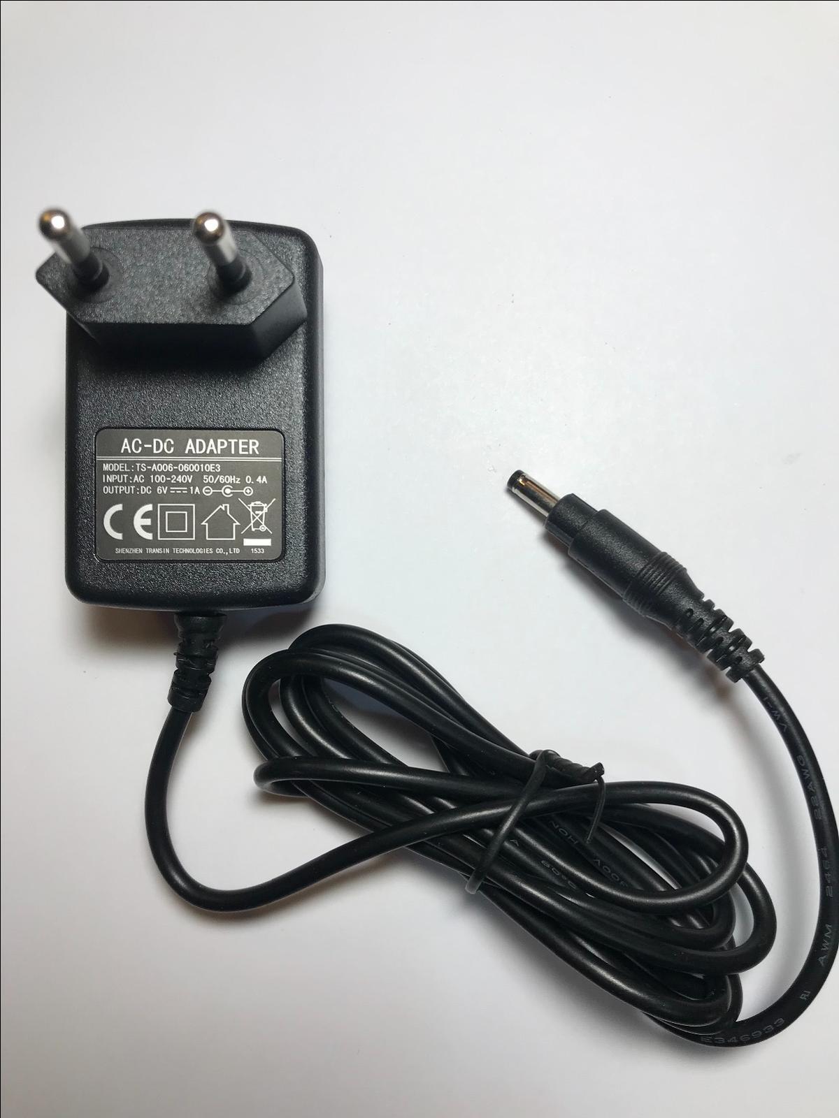 6 V di ricambio per Sony 5.8 V AC-ES588K AC-DC Commutazione Adattatore Caricatore Spina UK