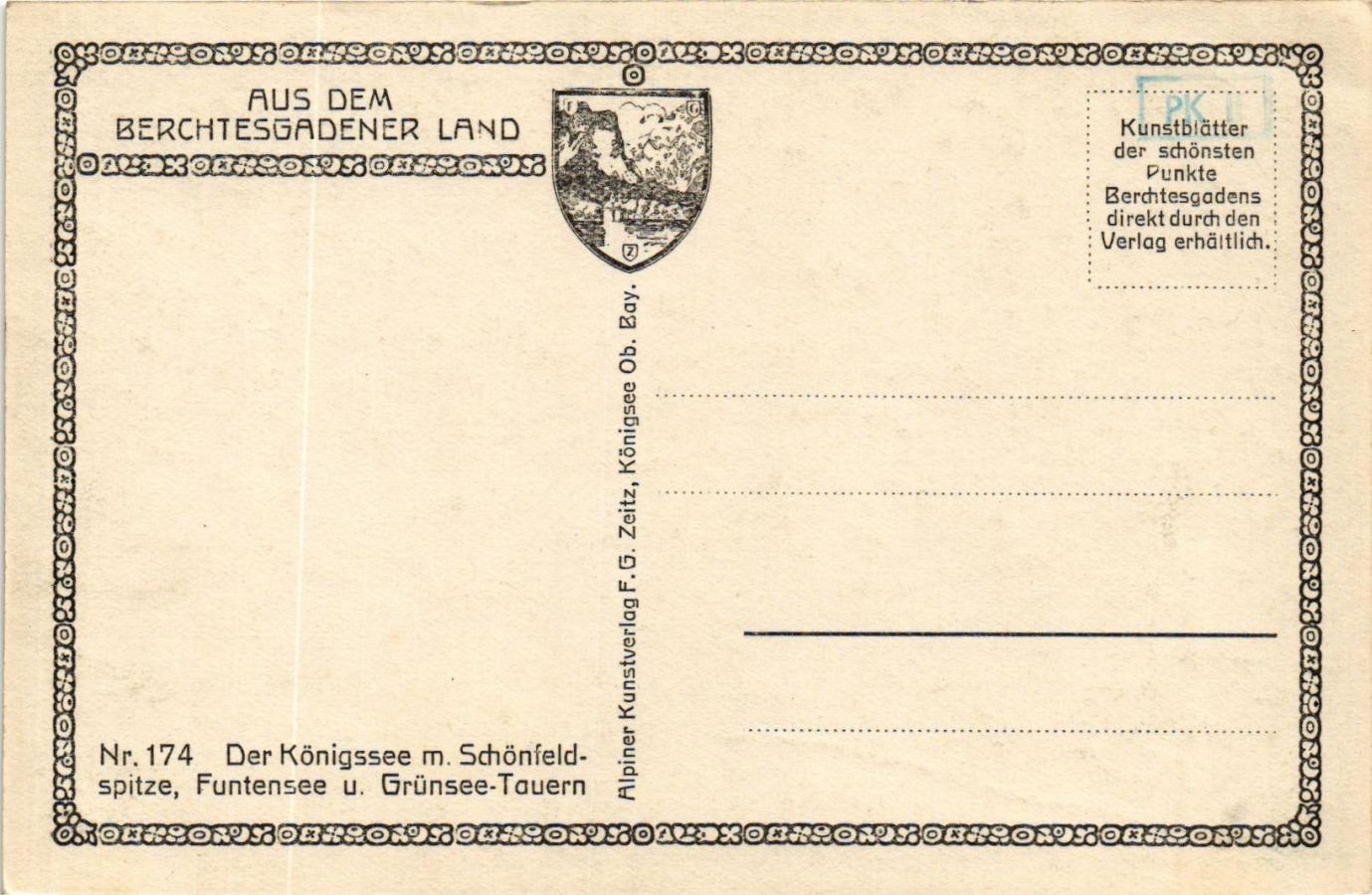 CPA-AK-Konigssee-aus-dem-Berchtesgadener-land-GERMANY-878872 miniature 2