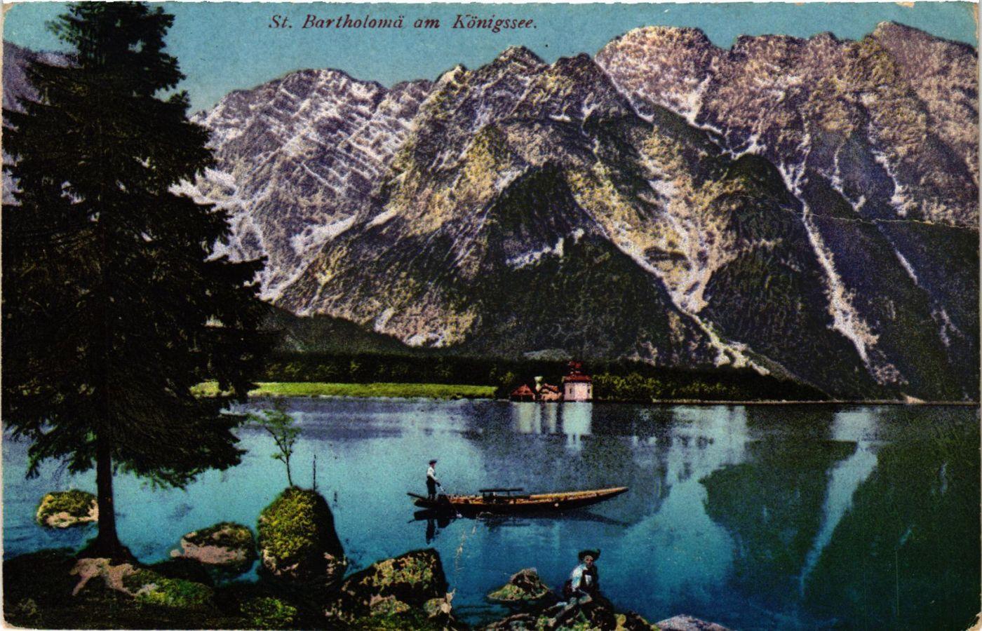 CPA-AK-Konigssee-St-Bartholoma-GERMANY-878918