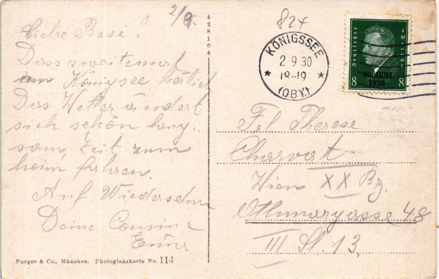 CPA-AK-Konigssee-St-Bartholoma-GERMANY-878964 miniature 2