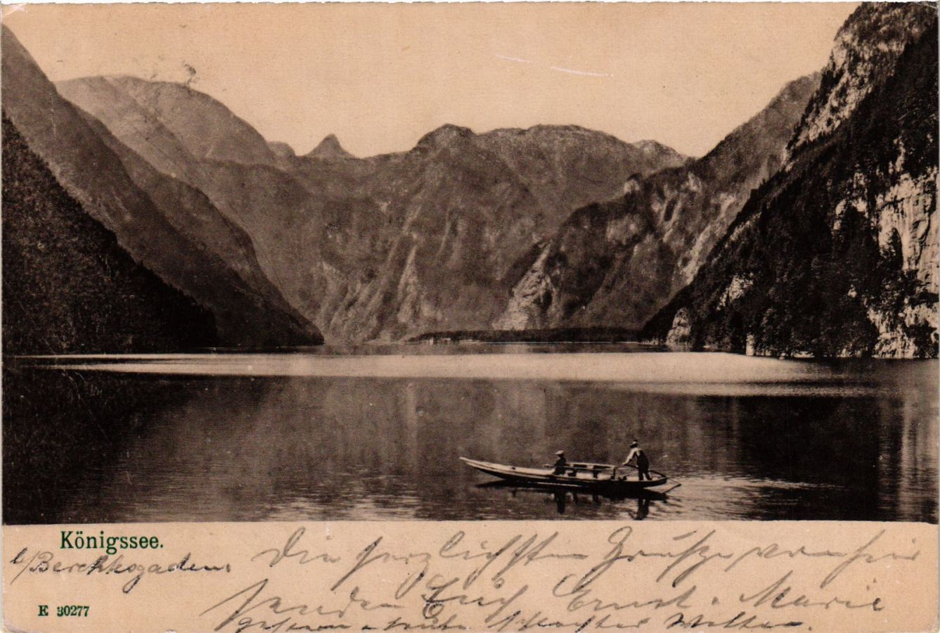 CPA-AK-Konigssee-GERMANY-879012 miniature 1