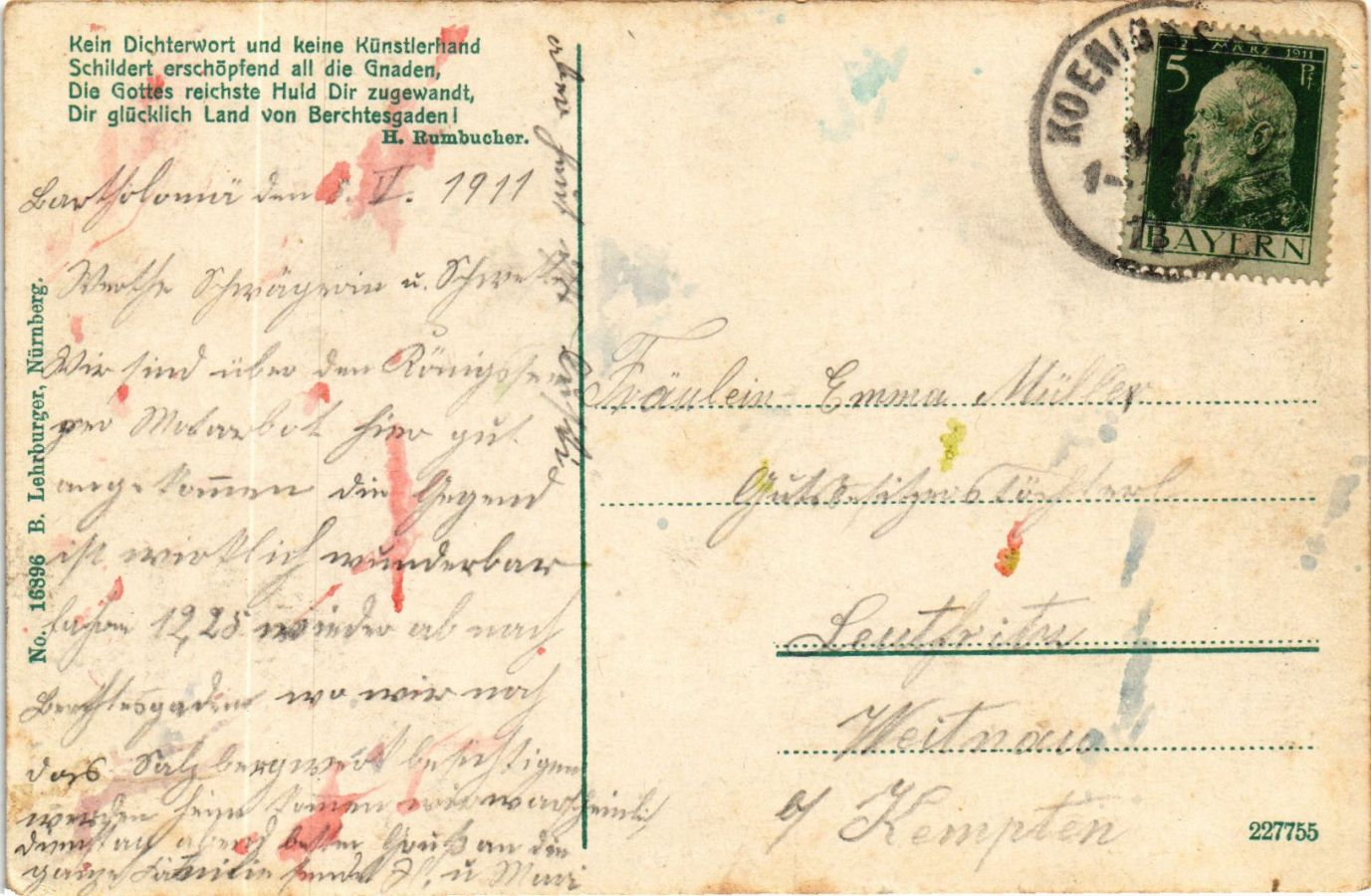 CPA-AK-Konigssee-St-Bartholoma-GERMANY-878820 miniature 2