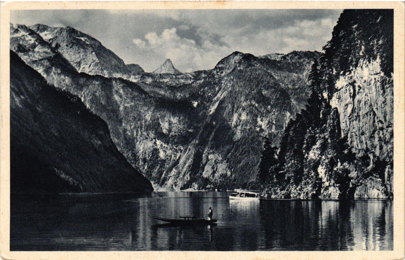 CPA-AK-Konigssee-mit-Steinernem-Meer-GERMANY-879284
