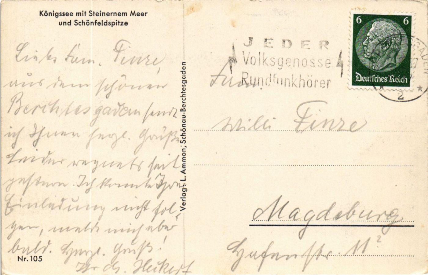 CPA-AK-Konigssee-mit-Steinernem-Meer-GERMANY-879284 miniature 2