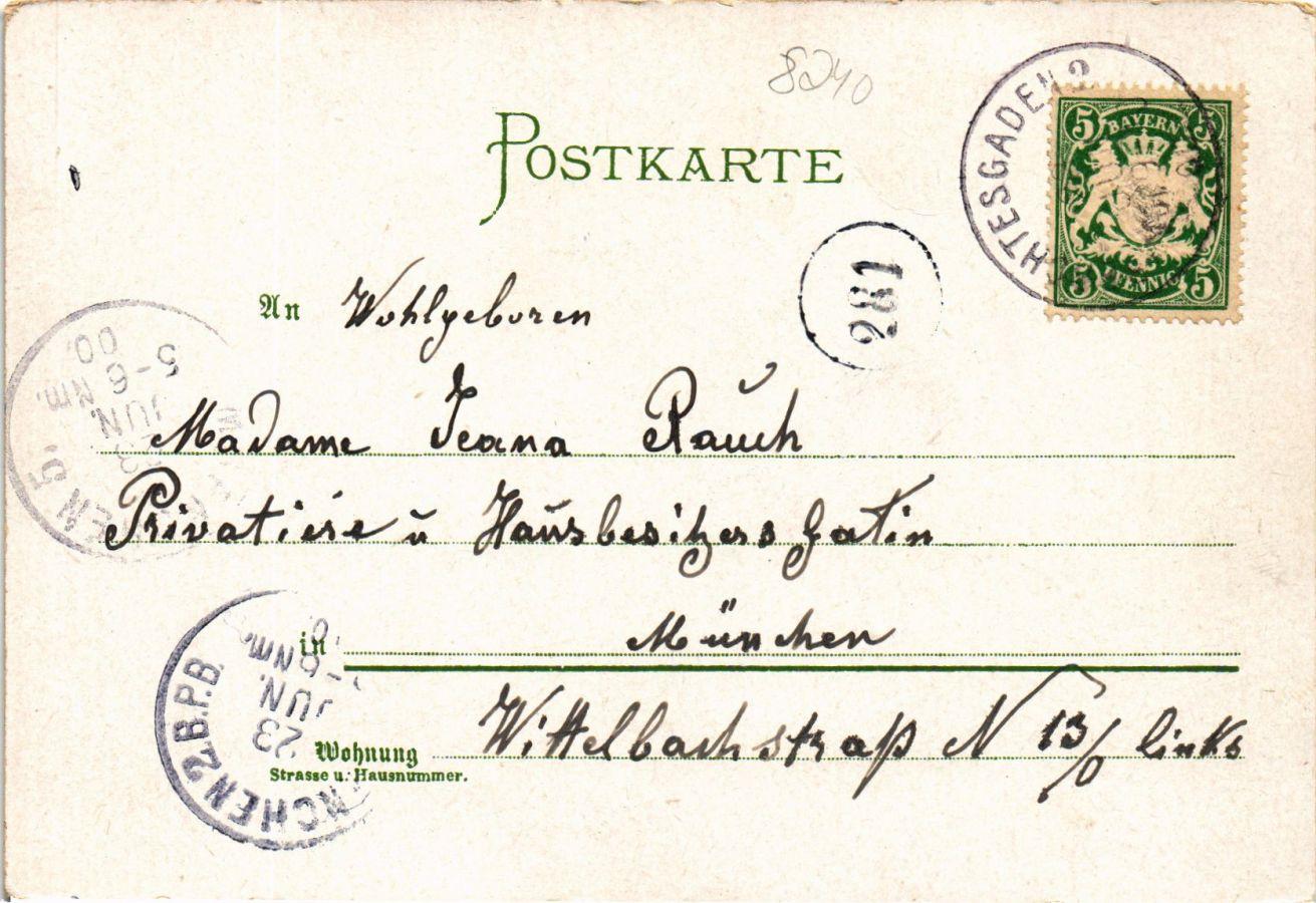 CPA-AK-Gruss-vom-Konigsee-GERMANY-879387 miniature 2