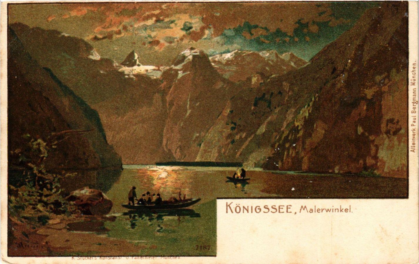 CPA-AK-Konigssee-Malerwinkel-GERMANY-879433
