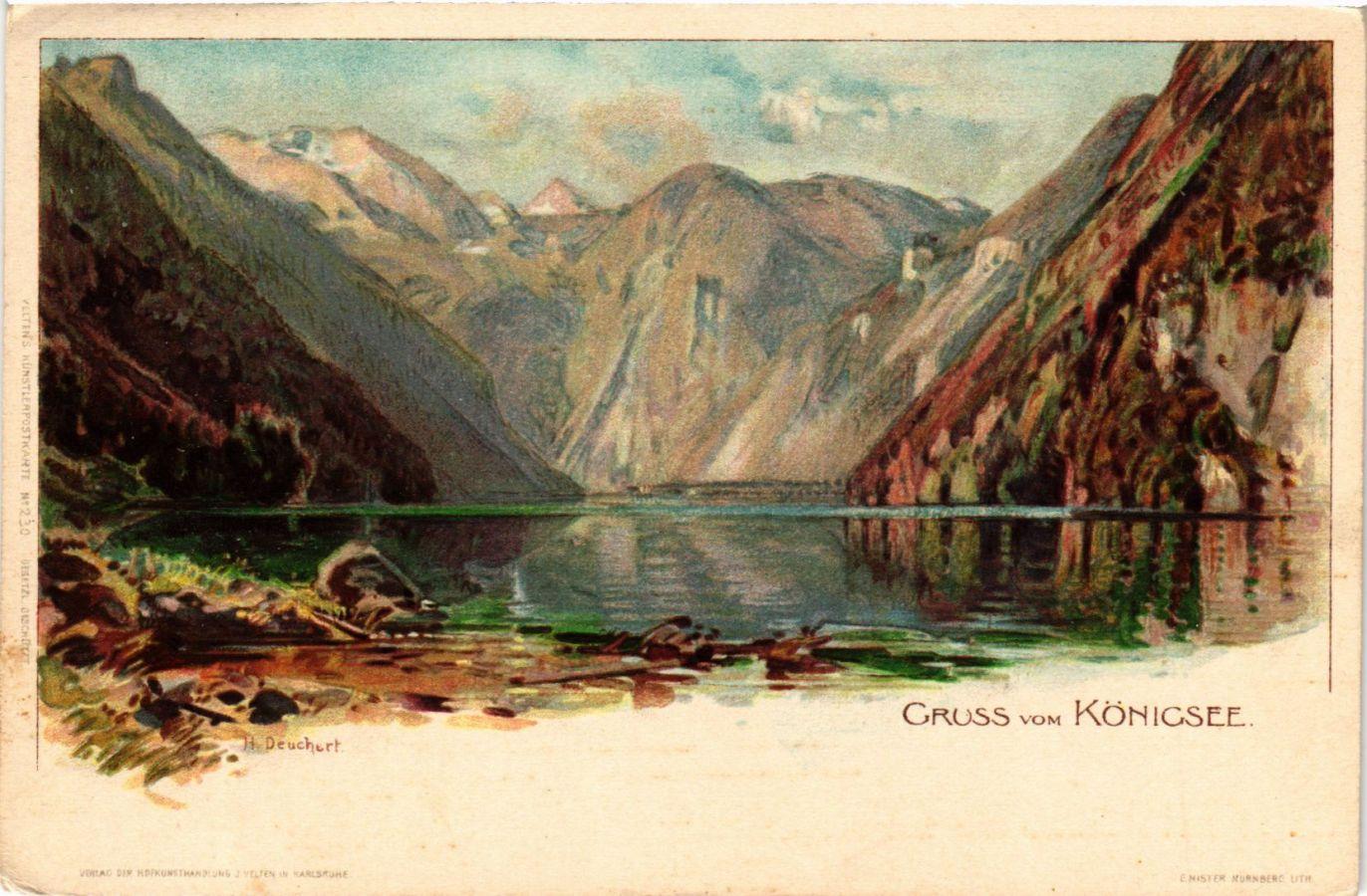 CPA-AK-Konigssee-Gruss-vom-Konigsee-GERMANY-879458