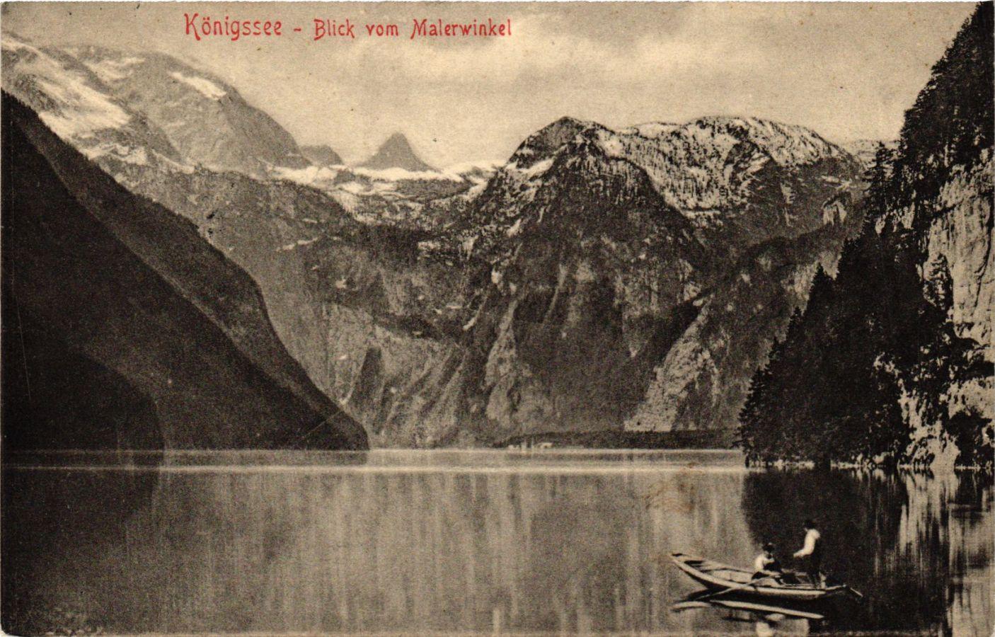 CPA-AK-Konigssee-Blick-vom-Malerwinkel-GERMANY-879306
