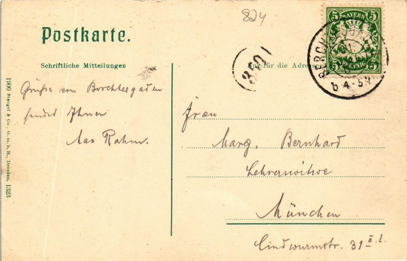 CPA-AK-Konigssee-Blick-vom-Malerwinkel-GERMANY-879306 miniature 2