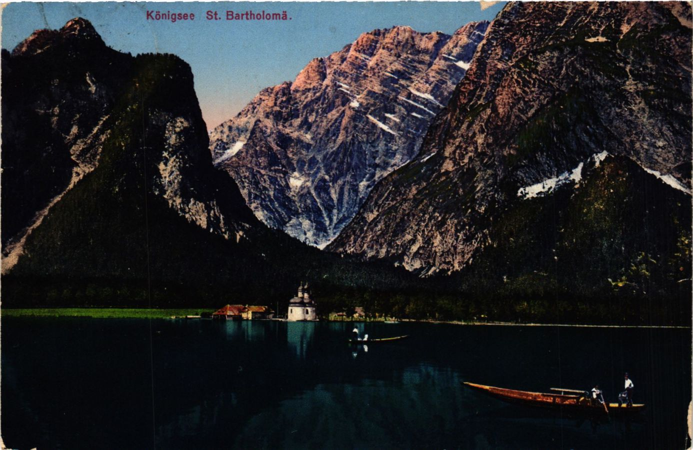 CPA-AK-Konigssee-St-Bartholoma-GERMANY-879281