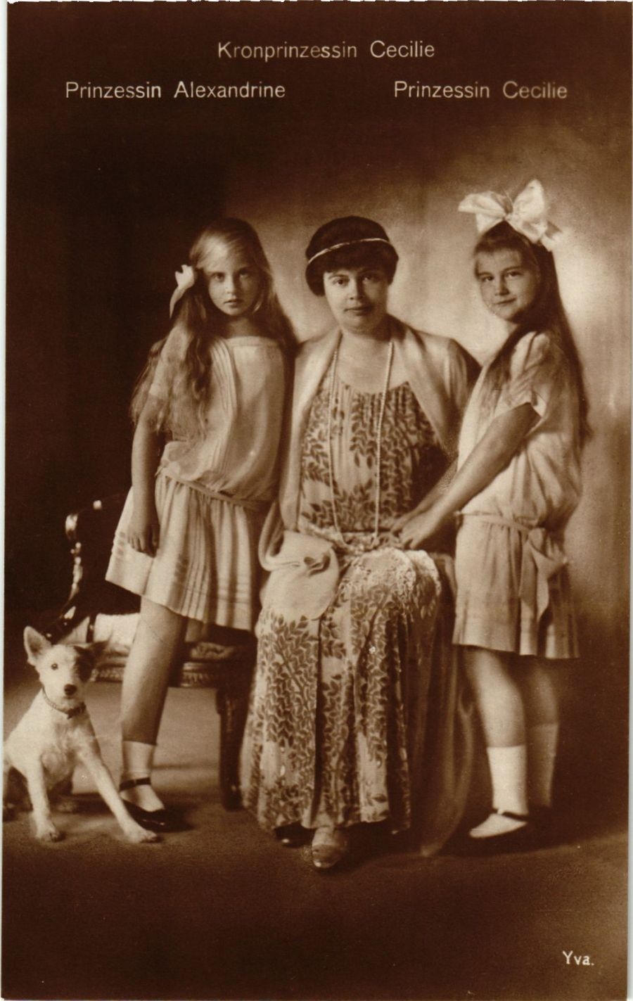 CPA-AK-Kronprinzessin-Cecilie-Alexandrine-Cecilie-GERMAN-ROYALTY-867432