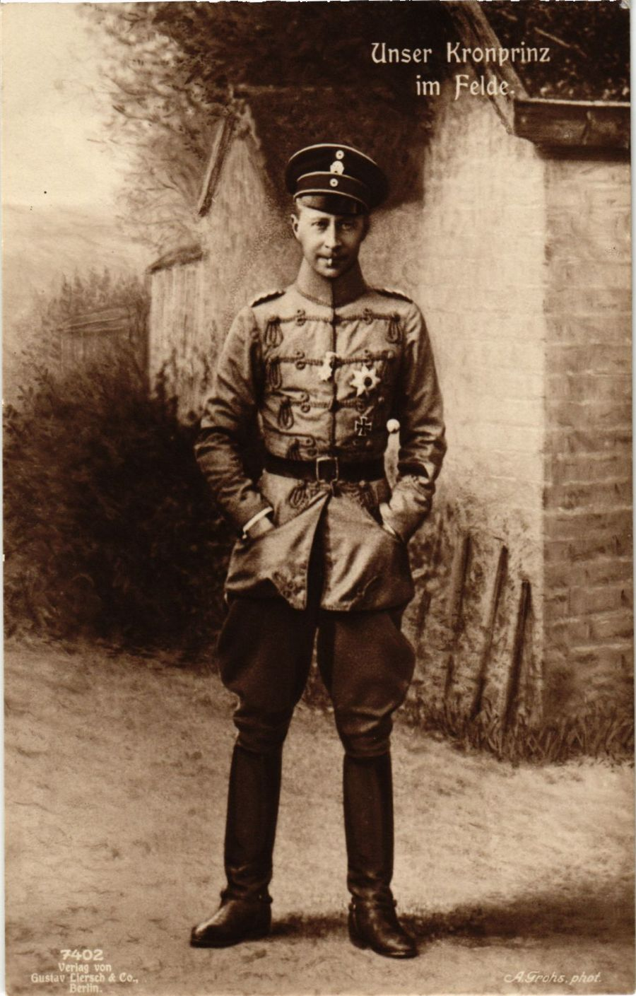 CPA-AK-Kronprinz-Wilhelm-im-Felde-GERMAN-ROYALTY-867518