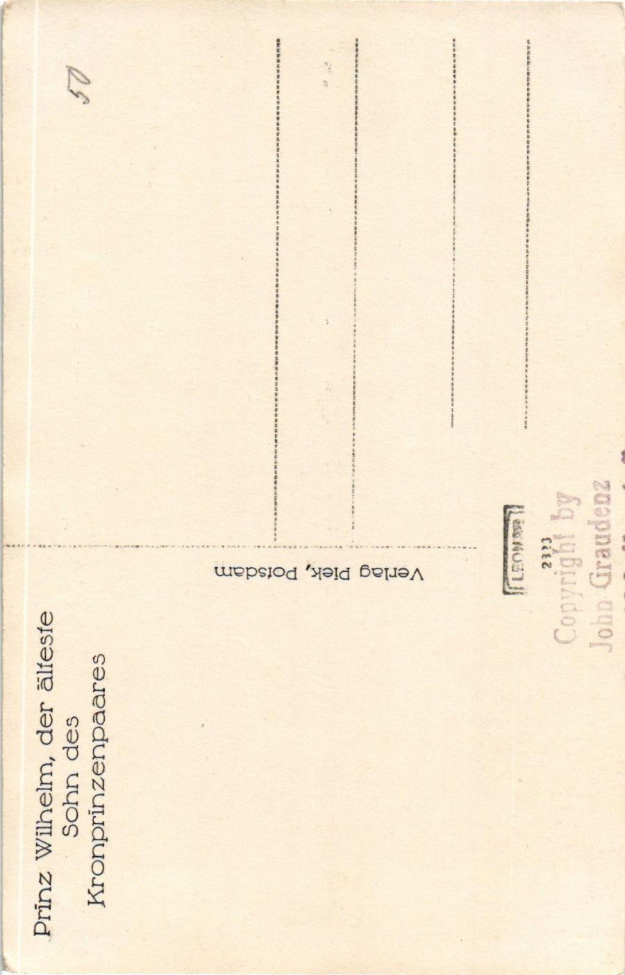 CPA-AK-Prinz-Wilhelm-v-Preussen-im-Winter-GERMAN-ROYALTY-867561 Indexbild 2