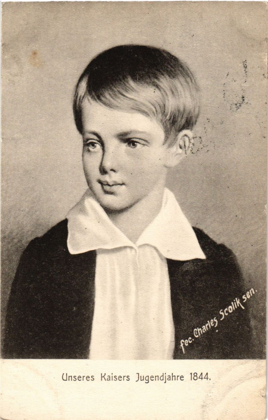 CPA-AK-Unseres-Kaisers-Jugendjahre-1844-GERMAN-ROYALTY-867610