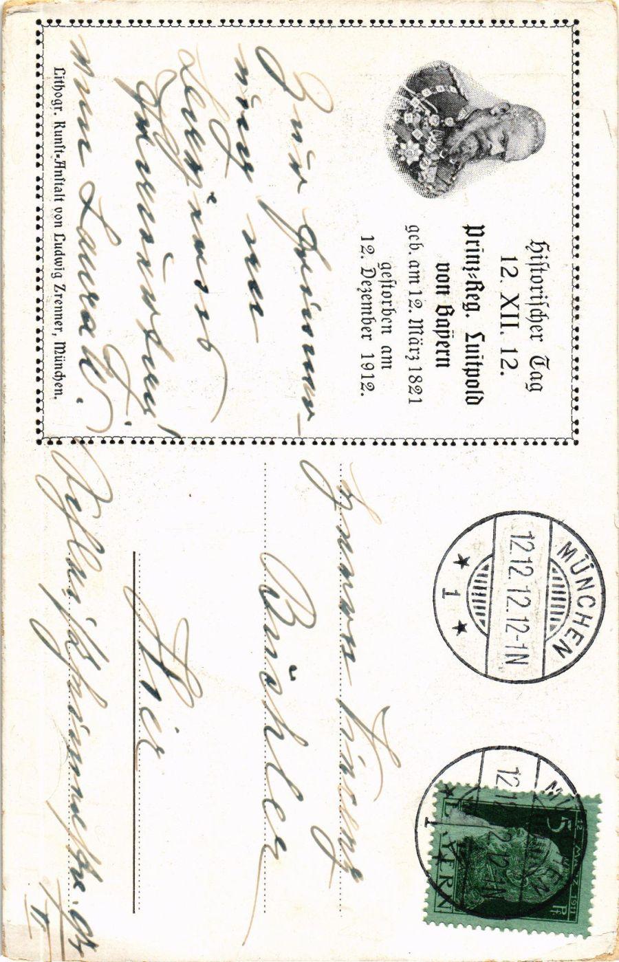 CPA-AK-Luitpold-v-Bayern-Prinz-Regent-GERMAN-ROYALTY-867323 Indexbild 2