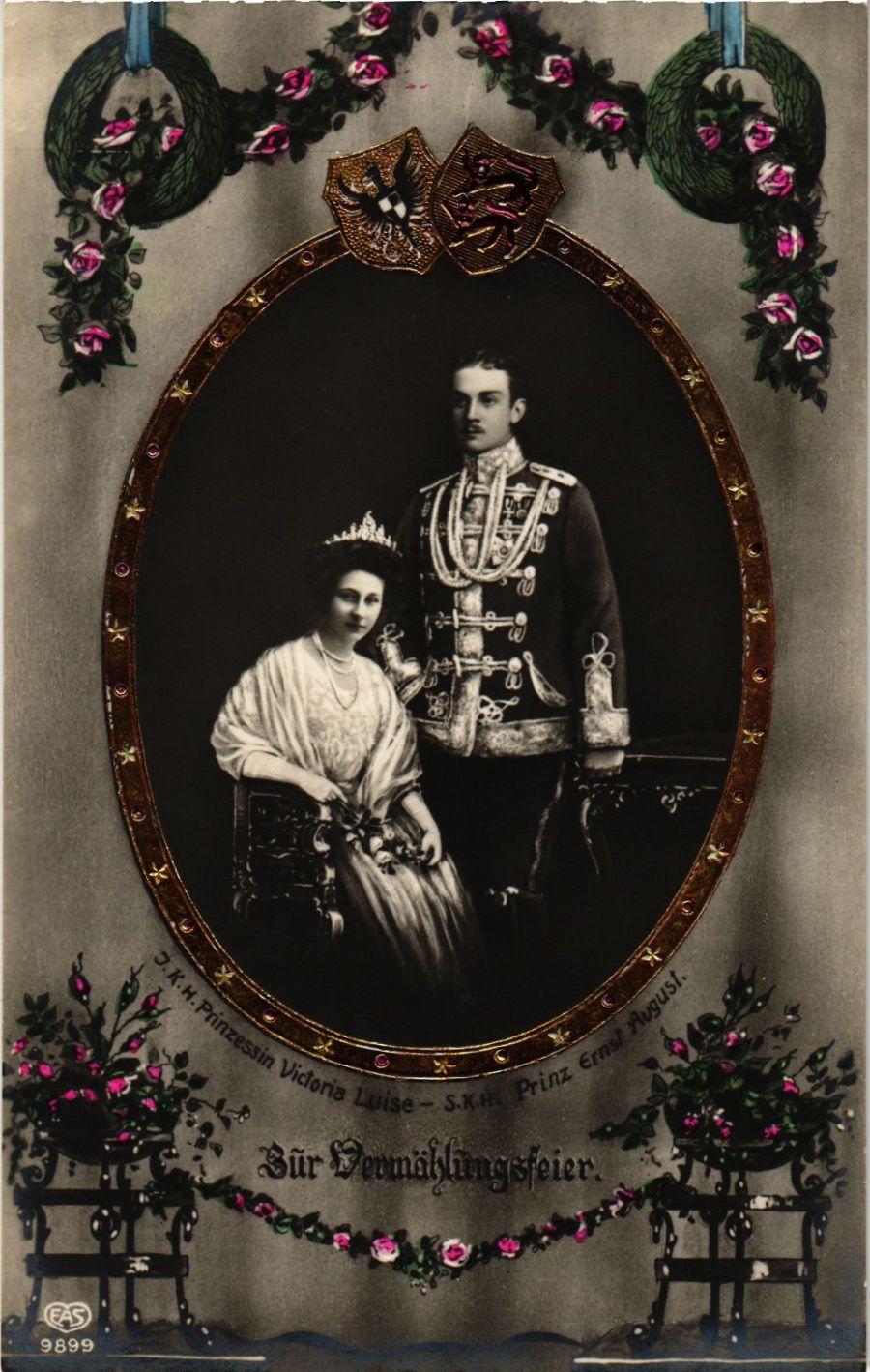CPA-AK-Ernst-August-u-Viktoria-Luise-v-Braunschweig-GERMAN-ROYALTY-867876