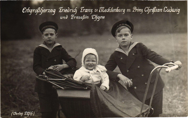 CPA-AK-Grossherzog-v-Mecklenburg-Schwerin-Kinder-GERMAN-ROYALTY-867993