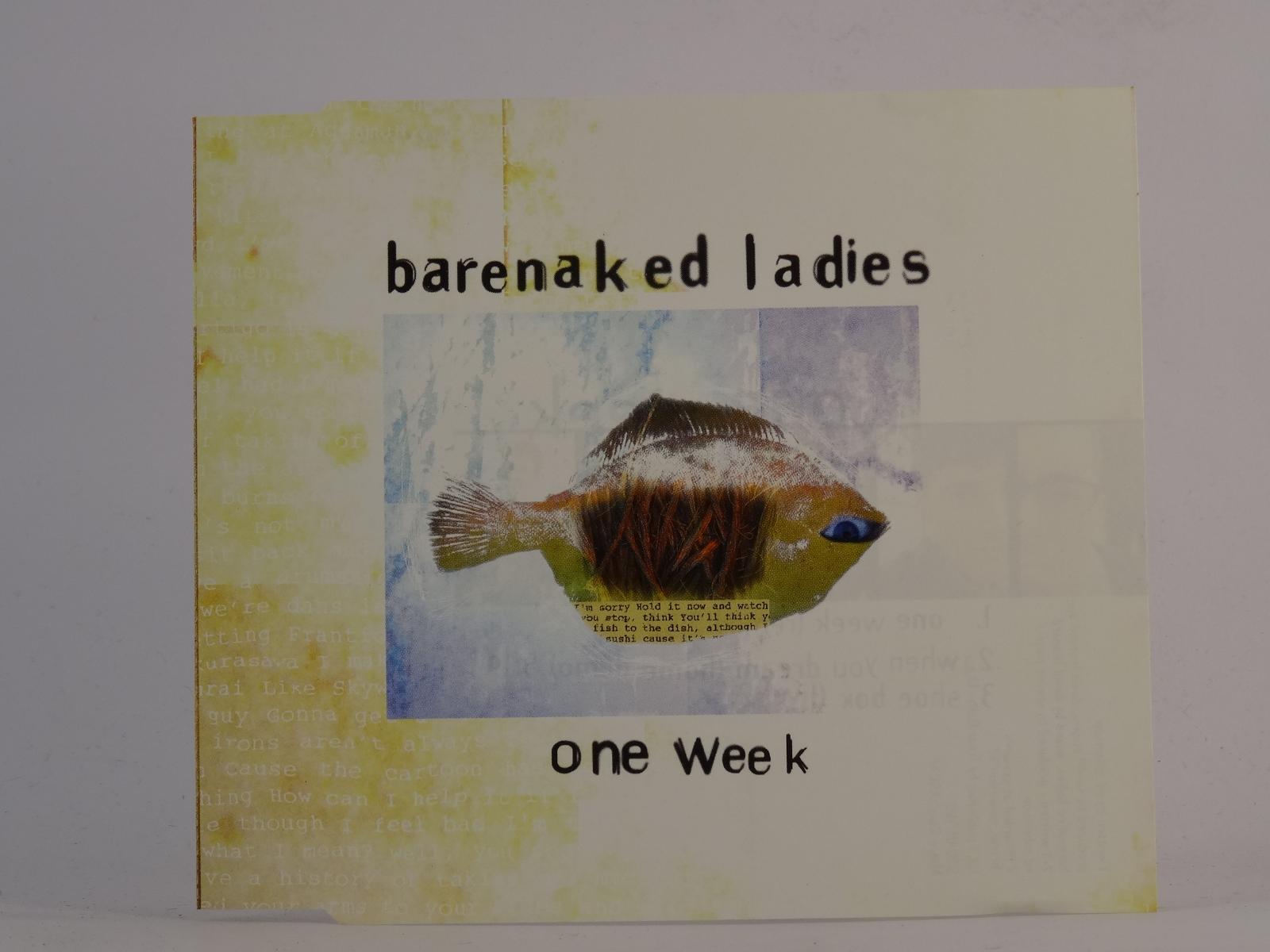 Barenaked lady one week