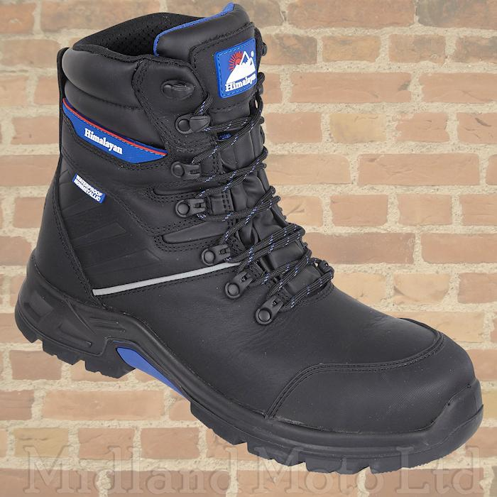 THERMAL COMPOSITE SAFETY BOOTS LIGHT FIBRE FUR LINED /& S3 WATER PROOF LEATHER