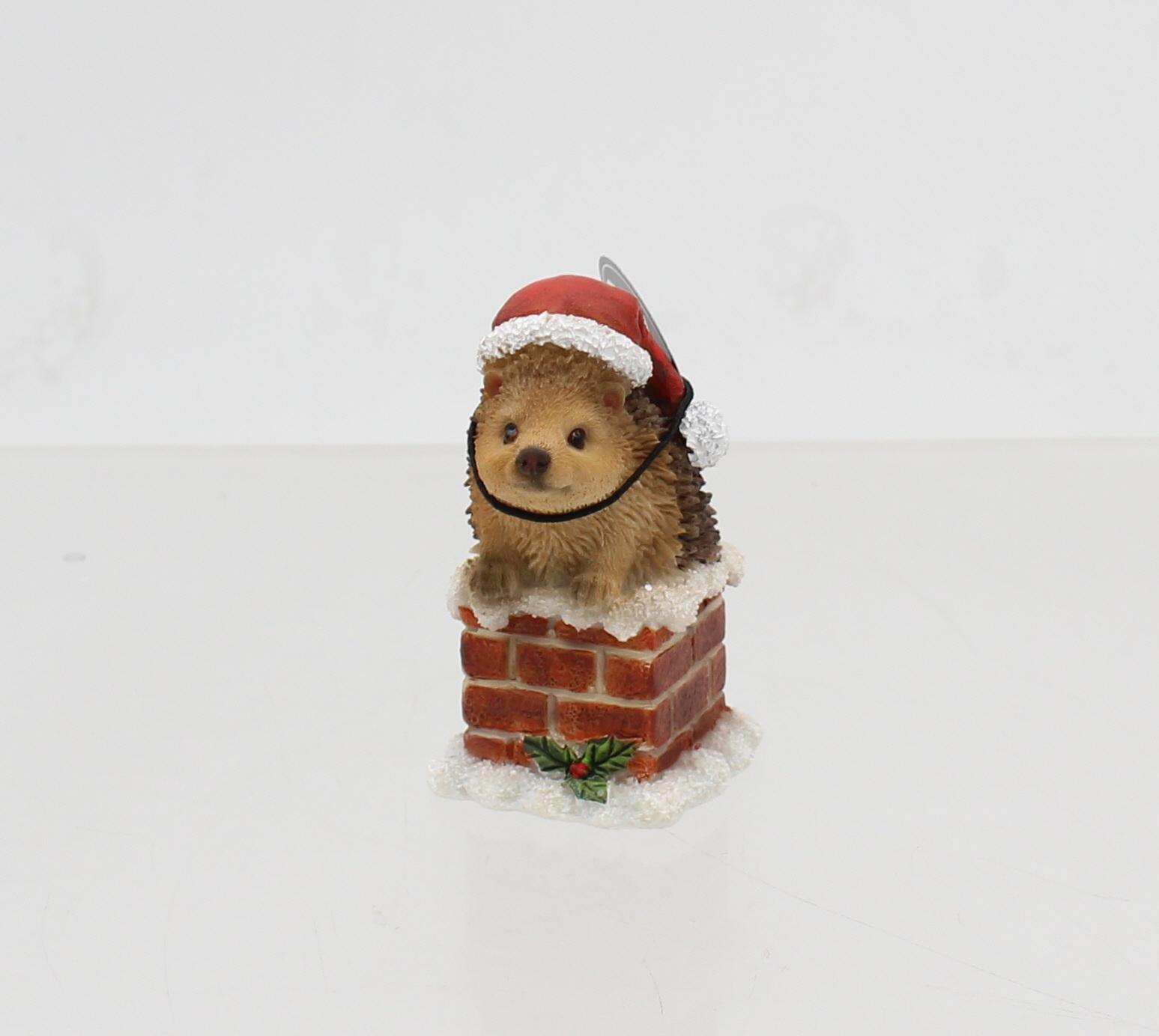 Vivid Arts Christmas Chimney Ornaments Choice of 4 Animals Indoor//Outdoor Use